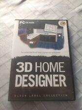 PC CD-ROM 3D Home Designer