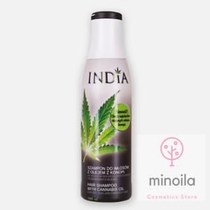 Shampoo with hemp seed oil for dry and damge hair INDIA  COSMETICS 400ml.