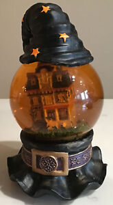Wizard Of Oz Witch Hat Snow Globe Ding Dong The Witch IsDead Musical Rare