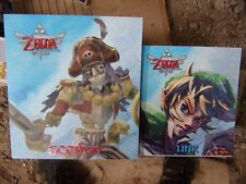 The Legend of Zelda : Skyward Sword LINK and SCERVO Statues Figurine Nintendo