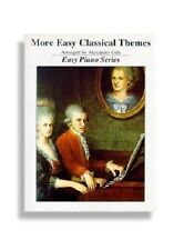 More Easy Classical Themes for Easy Piano Song Book Sheet Music Songbook