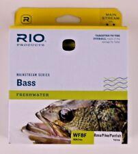 Rio Mainstream Bass Fly Line WF8F Yellow FREE SHIPPING 6-20767