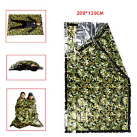 Emergency Survival Sleeping Bag Insulation Thermal Camping Outdoor Reusable Sack