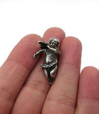 Angel Cherub pendant Vintage Antique Sterling Silver