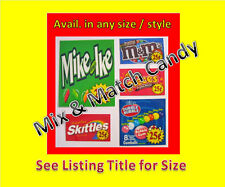 12  laminated 2 x 3.25 VENDING  labels mix & match WITH PRICE