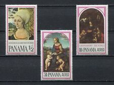 37235) PANAMA 1966 MNH** Durer, Raphael, Giotto 3v