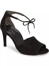 New Black Paul Green Liza Ankle Strap Sandal Size 3.5 UK / 6 US MSRP $315