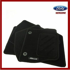 Genuine Ford Focus 2011-2015 Car Black Mat Set of 4. New! 1719616