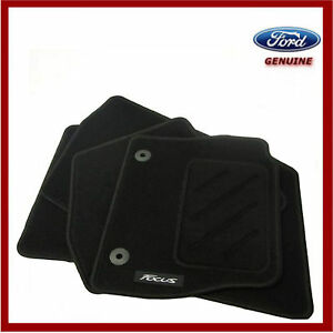 Genuine Ford Focus 2011-2015 Car Black Mat Set of 4. New! 1719616