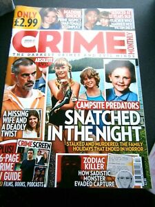 Crime Monthly Magazine Issue  Issue 17 August  (new) 2020