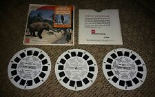 San Diego Zoo Pkt #1 - View Master Complete 3 Reel Packet #A-173 vintage antique