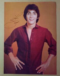 Magazine Pinup~ SCOTT BAIO ~1970s ~Reddish Purple Shirt Pose