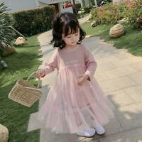 Autumn Baby Girls Dress Kids Girl Clothing Princess Infant Party Wedding Dresses