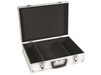 1 Valise en Aluminium avec Compartiment Amovibles 425 x 305 x 125 mm