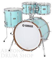"Yamaha RECORDING CUSTOM 4pc Drum Set SURF GREEN w/ 20"" Bass Drum  (RC0F40JSFG)"
