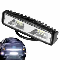 6 inch 48W 16 LED Work Light Flood Beam Bar Car SUV OffRoad Driving Fog Lamps CC