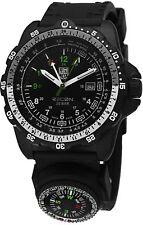 Luminox Men's 8832.MI Recon NAV SPC Compass GMT Black Rubber Watch 8832.MI.L