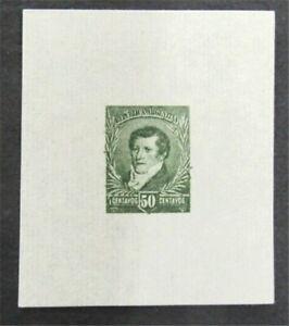 nystamps Argentina Stamp Mint Proof   L30y018