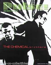 Chemical Brothers 2002 Pulse Magazine Cover Original Promo Poster