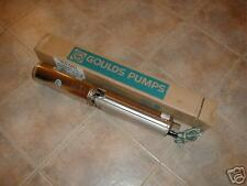 New GOULDS 1 1/2 HP 10 GPM SUBMERSIBLE WATER  WELL PUMP