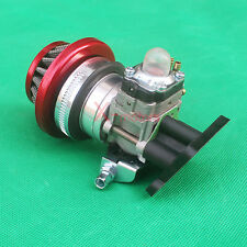 Carburetor Air Filter Assy Alloy Stack for 43cc 47cc Gas Scooter Pocket Bike