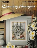 Country Bouquet Cross Stitch | Leisure Arts 970