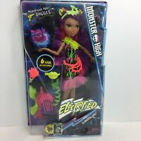 Monster High Clawdeen Wolf Doll Action Figure Electrified Monstrous Hair Ghouls