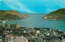 Canada, Newfoundland, St John's, View of Harbour 1967 Chrome Postcard
