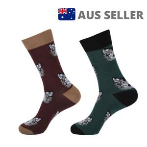 Unisex Husky Dog Novelty Socks Gift   2 Colours