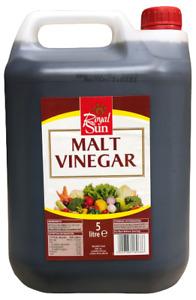 Royal Sun Malt Vinegar 5L Catering Size.