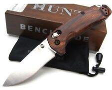 * New Benchmade Hunt 15031-2 North Fork Axis Knife Dymondwood Handle Satin S30V