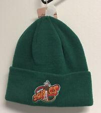 Seattle Supersonics Adidas 2014 Team Cuff Winter Knit Hat Green