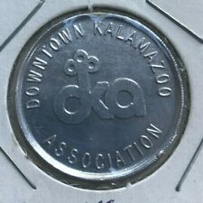 Kalamazoo Michigan MI Downtown Kalamazoo Association Transportation Token