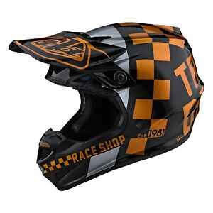 Troy Lee Designs Se4 Helmet Polyacrylite TLD Mx Motocross Enduro Checker 2021