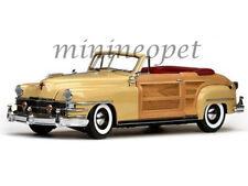 SUN STAR 6140 1948 48 CHRYSLER TOWN AND COUNTRY 1/18 DIECAST MODEL CAR CREAM