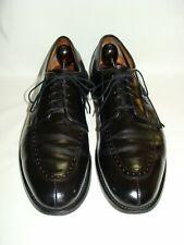 Allen Edmonds Kingsley Super Prime Italy Black Leather Split Toe Dress Shoes 12B