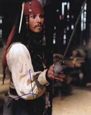 Johnny Depp In-Person AUTHENTIC Autographed Photo COA Pirates SHA #58666