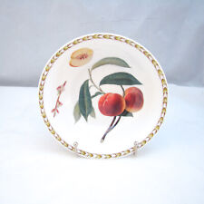 """Queen's Rosina HOOKER'S FRUIT """"Peach"""" Soup/Cereal Bowl"""