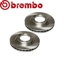For Lexus LX450 Toyota Set of 2 Front Brake Disc Rotors Vented Brembo 4351260090