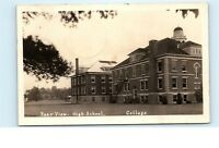 High School College Building 1920s New York Unknown Location Photo Postcard C63