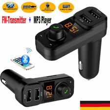 Bluetooth FM Transmitter MP3 Player Auto Car Freisprechanlage Adapter Ladegerät