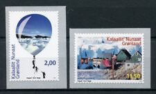 Greenland 2017 MNH Environment 2v S/A Set Mountains Tourism Architecture Stamps