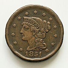 USA Cent 1851 High grade