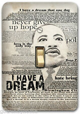 Martin Luther King Metal Light Switch Plate Cover Kitchen Home Decor 574 Cabinet