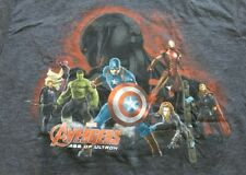 NWT Avengers Marvel Age of Ultron Graphic Tee Tshirt men's size Large Gray Hulk