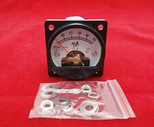 1PC AC 0-50MA Analog Ammeter Panel AMP Current Meter SO45 Cutout 45mm