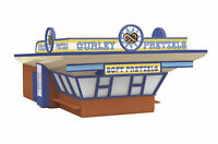 MTH Rail King O Gauge Curley's Pretzels Concession Stand #30-90202
