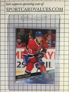 2020-21 Upper Deck YOUNG GUNS Jake Evans Montreal Canadiens Hockey Rookie Card