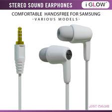 iGlow In-Ear Stereo Handsfree Headphones Earphones With Mic For Samsung Phones