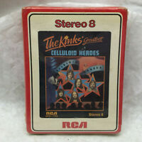 The Kinks Greatest Celluloid Heroes 8 Track RCA Factory Sealed